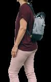 Lenker-Rucksacktasche Bella grau