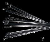 Speichen 278 mm Ø 3,4 mm für erhöhte Belastung, Edelstahl